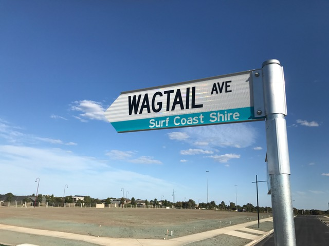 Wagtail Ave Sign